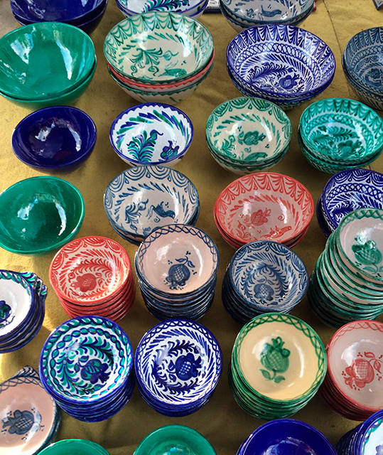 Keramik andalusisk