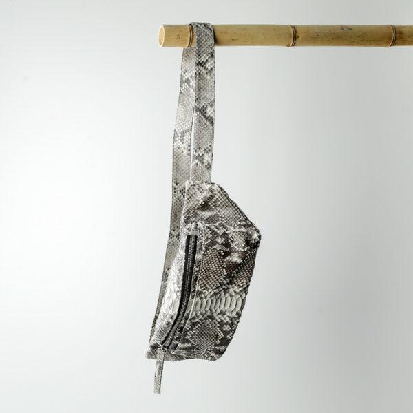 kundalini crossbody bum bag python skind nature